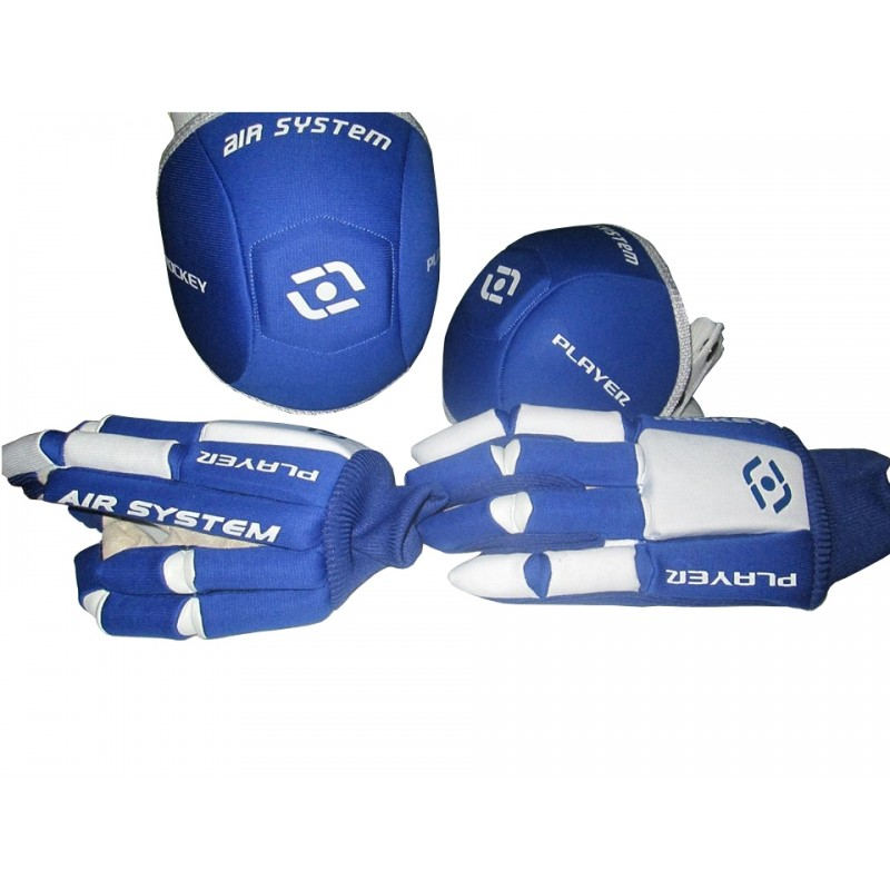 PACK GUANTI E GINOCCHIERE ANATOMIC AIR HOCKEYPLAYER