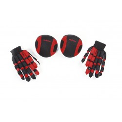 PACK GUANTES Y RODILLERAS MCROLLER MESH