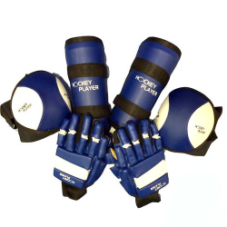 SET OF GLOVES KNEE PAD SHIN...